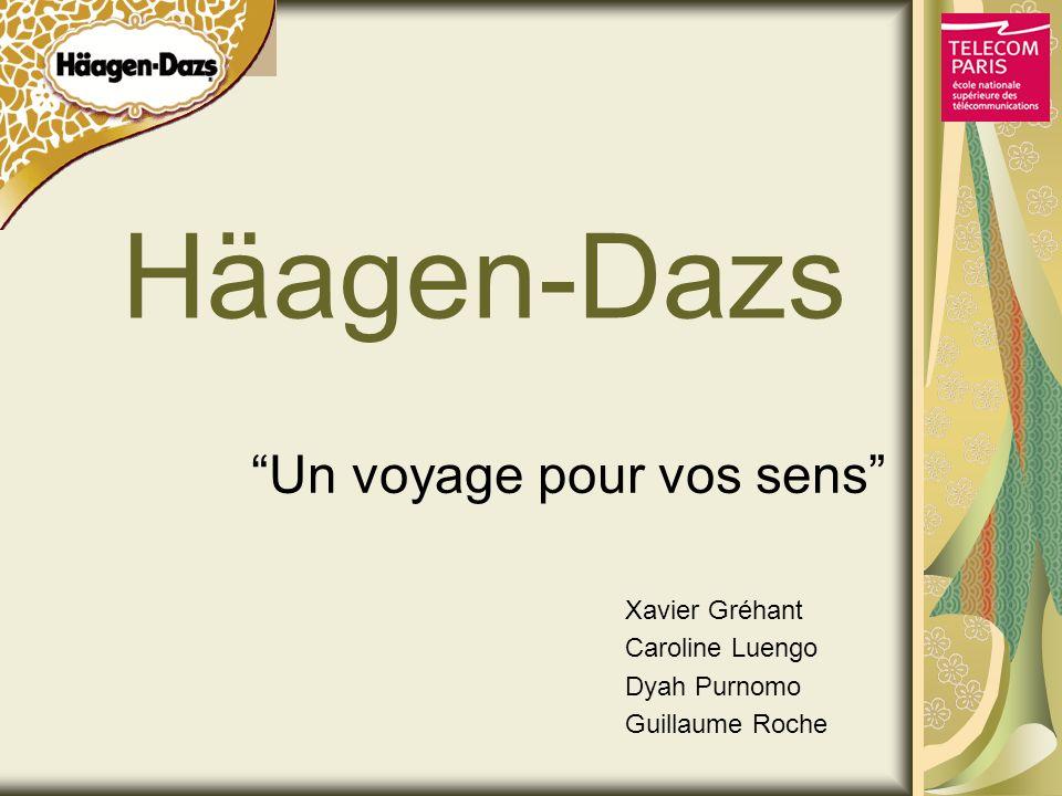 Häagen-Dazs Un voyage pour vos sens Xavier Gréhant Caroline Luengo Dyah Purnomo Guillaume Roche