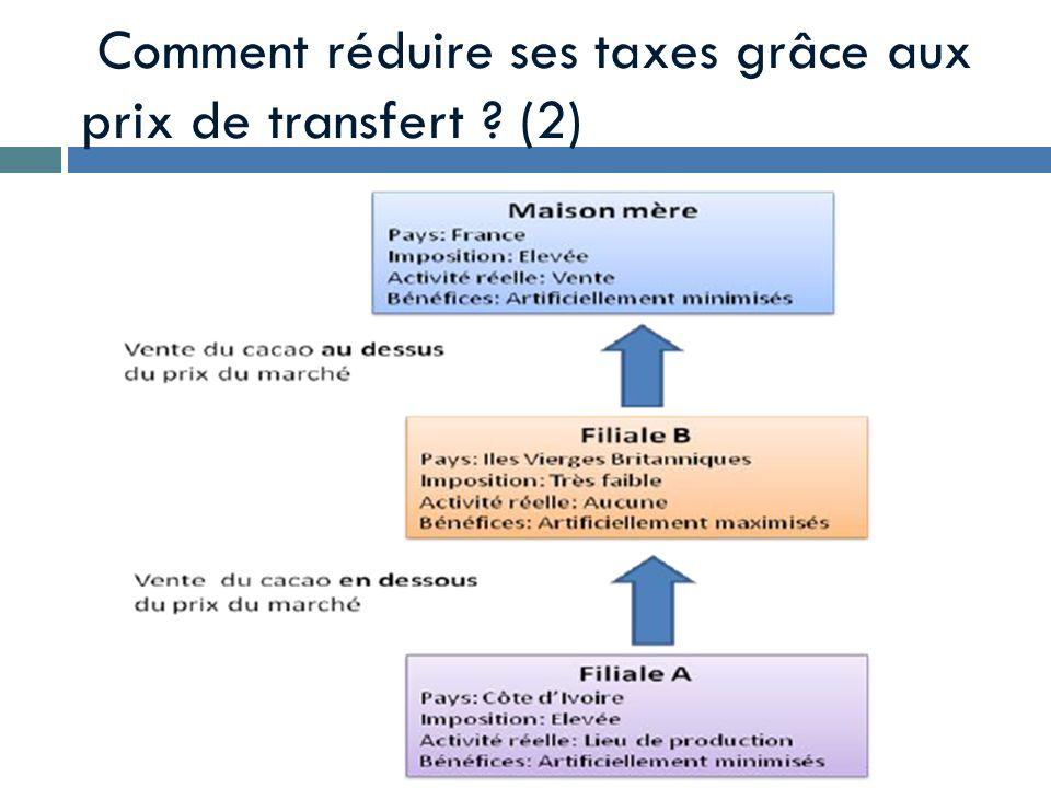Comment réduire ses taxes grâce aux prix de transfert ? (2)