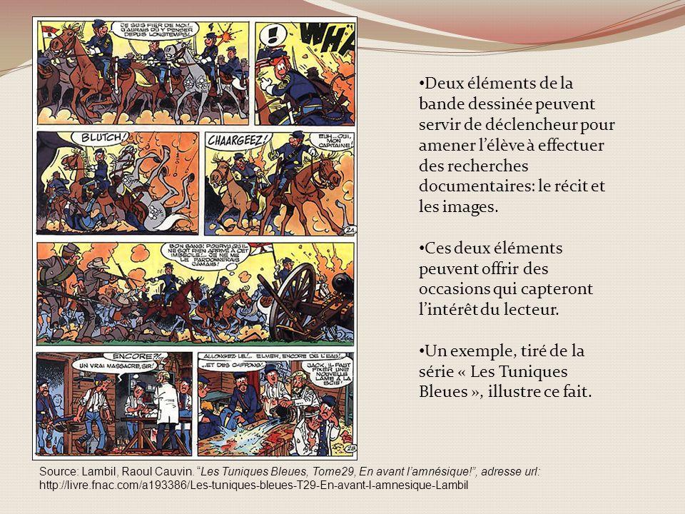 Source: Lambil, Raoul Cauvin. Les Tuniques Bleues, Tome29, En avant lamnésique!, adresse url: http://livre.fnac.com/a193386/Les-tuniques-bleues-T29-En