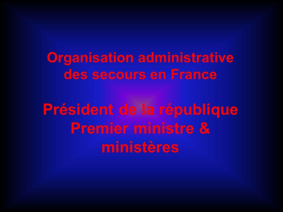 Organisation des secours en France Menaces terroristes Attaque au SARIN à Tokyo