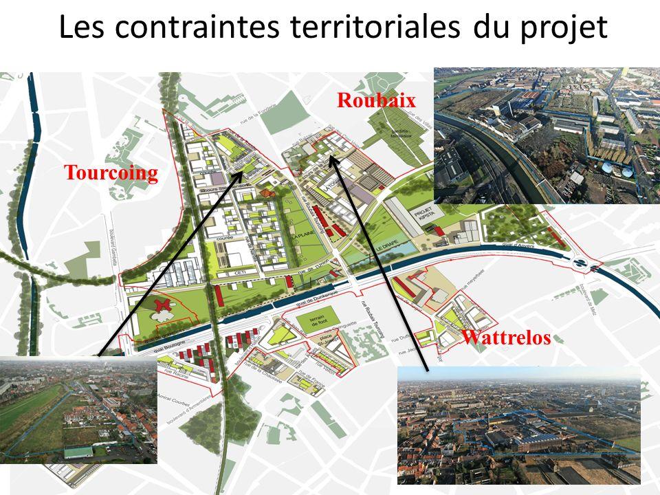 Les contraintes territoriales du projet Tourcoing Roubaix Wattrelos