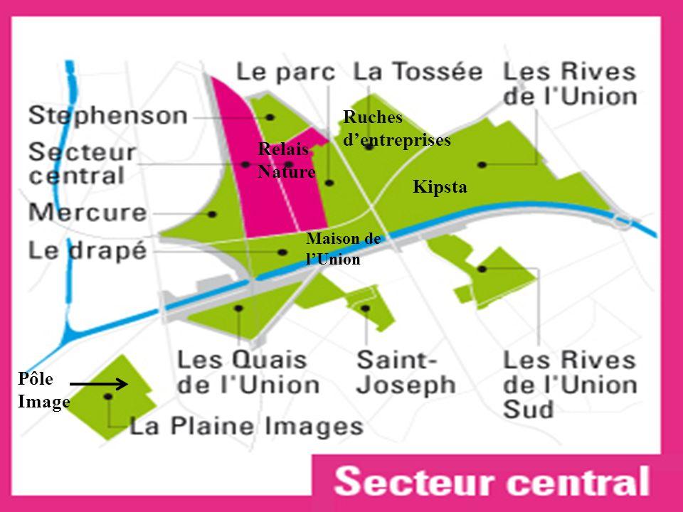 Relais Nature Maison de lUnion Pôle Image Ruches dentreprises Kipsta
