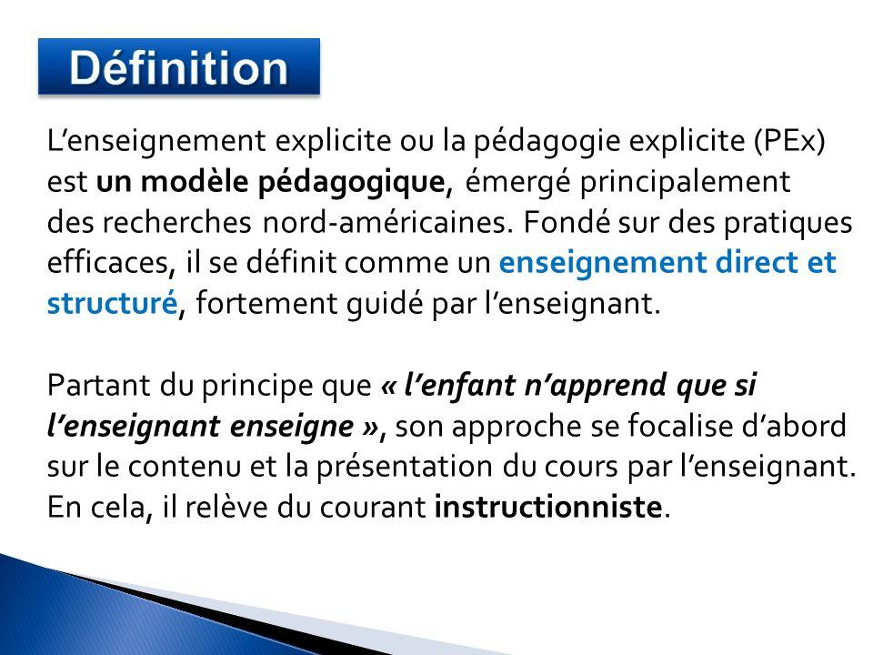 5.Les meilleurs systèmes éducatifs suivent-ils un enseignement « explicite » .