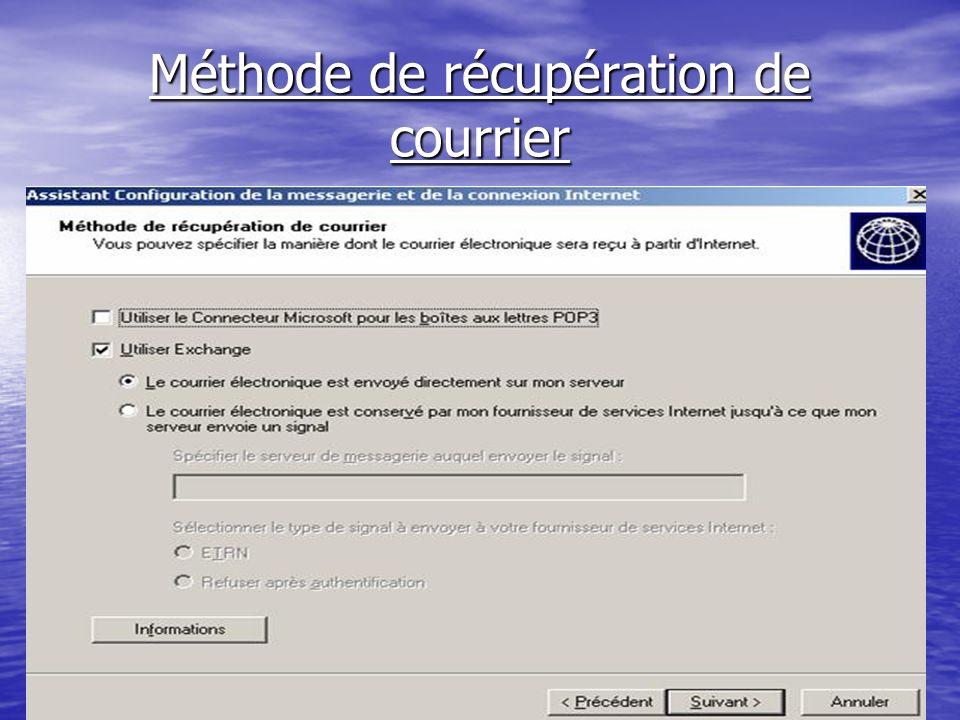 ntic2.xtreemhost.com Méthode de récupération de courrier