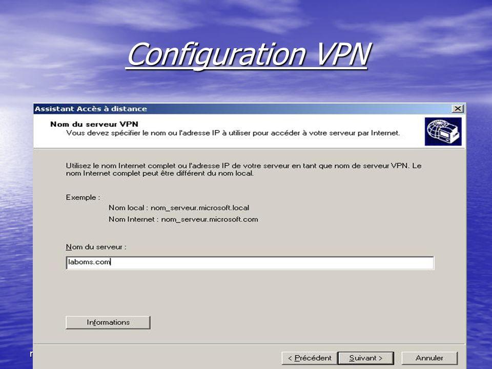 ntic2.xtreemhost.com Configuration VPN