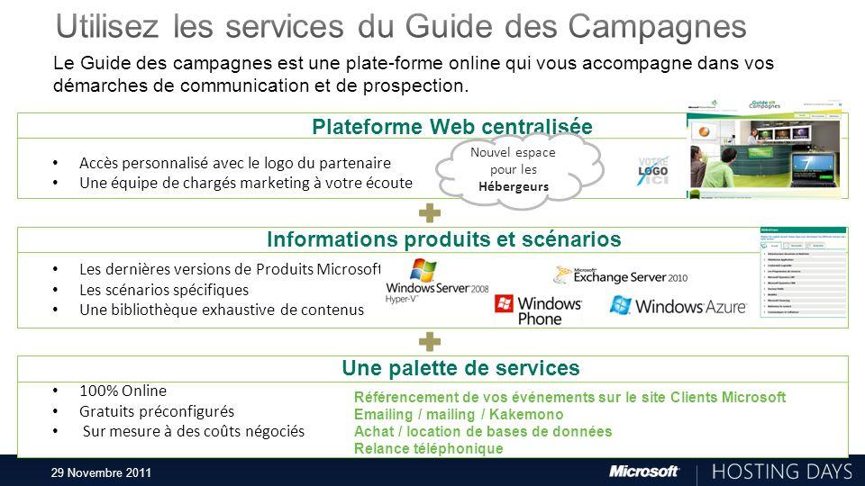 29 Novembre 2011 Le Guide des campagnes est une plate-forme online qui vous accompagne dans vos démarches de communication et de prospection. Platefor