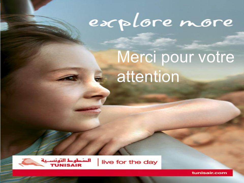 13 www.tunisair.com.tn Merci pour votre attention