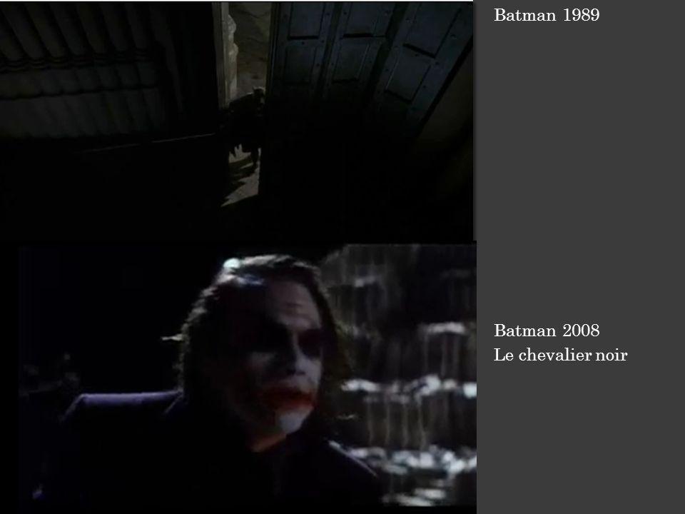Batman 1989 Batman 2008 Le chevalier noir