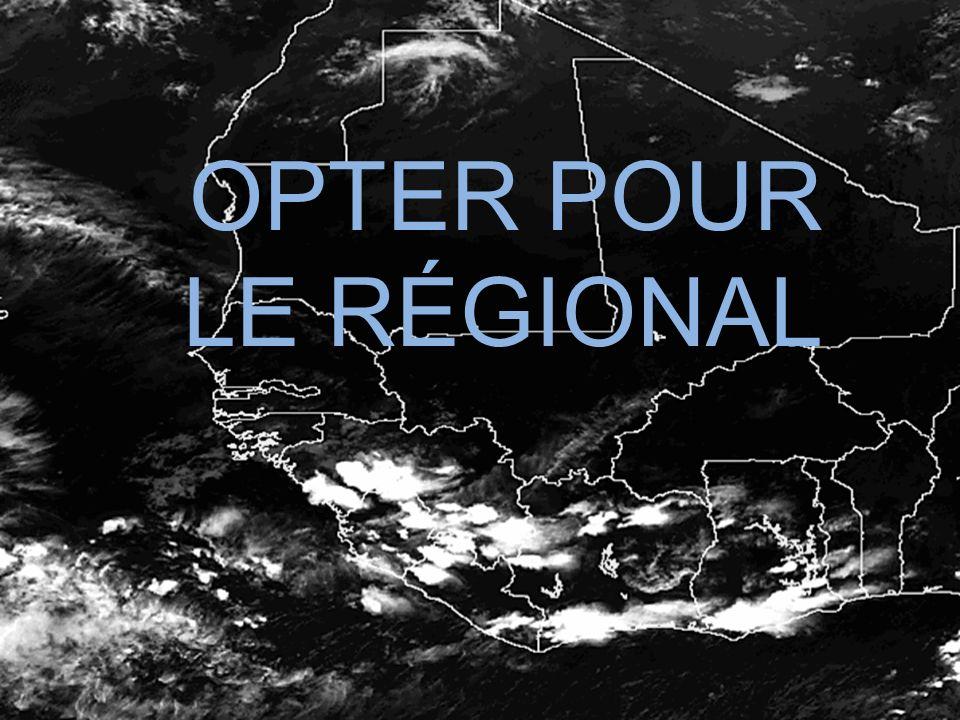 OPTER POUR LE RÉGIONAL