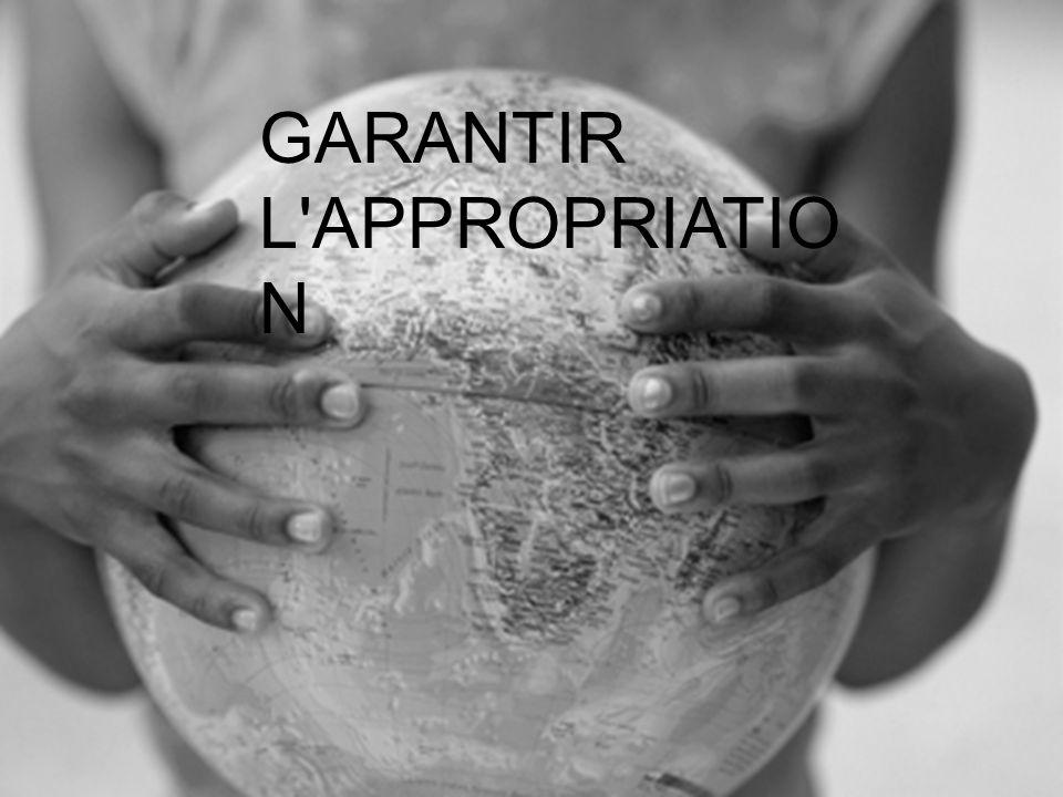 GARANTIR L APPROPRIATIO N