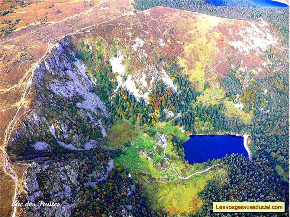 Lac de Retournemer Lesvosgesvuesduciel.comLesvosgesvuesduciel.com