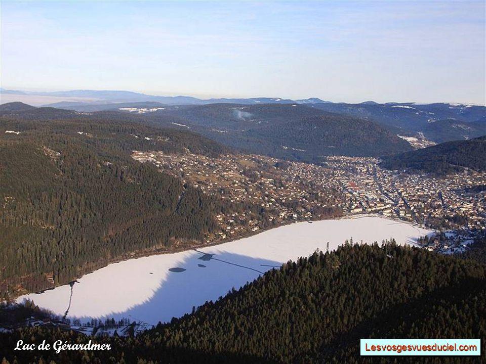 Lac de Gérardmer Lesvosgesvuesduciel.comLesvosgesvuesduciel.com