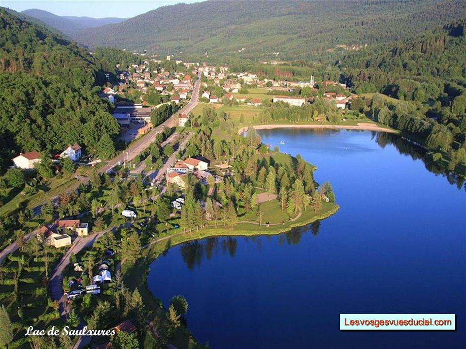Lac de Saulxures Lesvosgesvuesduciel.comLesvosgesvuesduciel.com