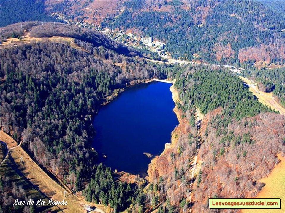 Lac de La Lande Lesvosgesvuesduciel.comLesvosgesvuesduciel.com