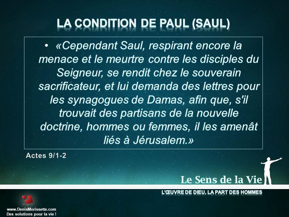 www.DenisMorissette.com Des solutions pour la vie !
