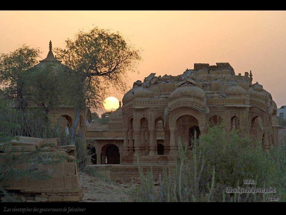 Le Fort de Jaisalmer, unique Fort habité en Inde.