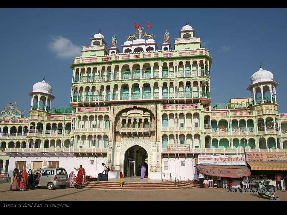 Temple de Rani Sati de Jhunjhunu.