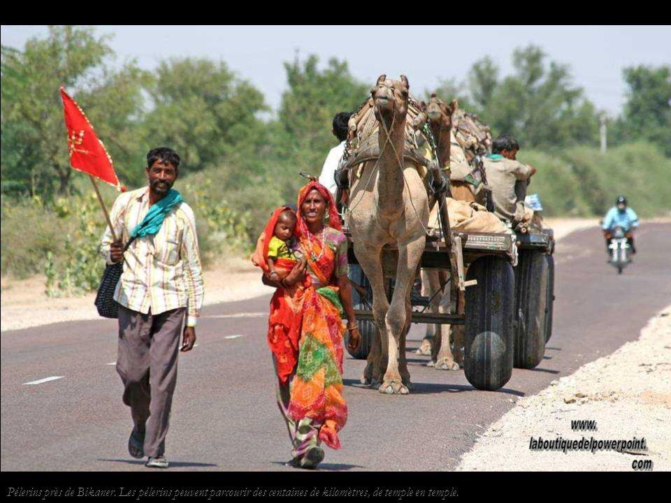 Pélerins près de Bikaner.