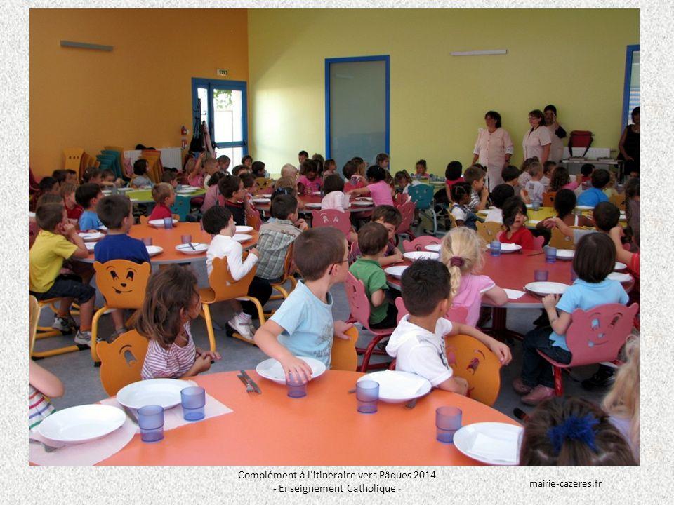 Complément à l itinéraire vers Pâques 2014 - Enseignement Catholique - mairie-cazeres.fr
