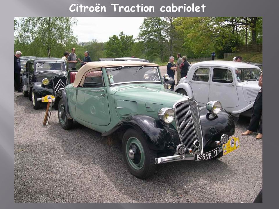 Citroën traction 11 BL 1938