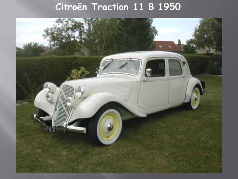 Citroën traction 15cv 1946