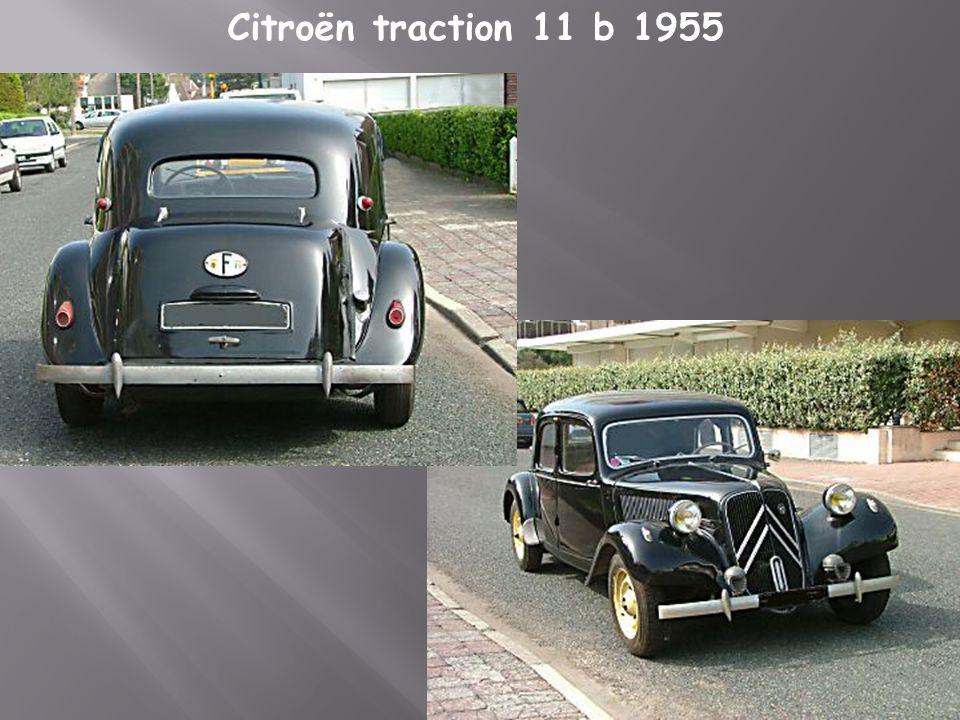 Citroën traction 11 BL 1953