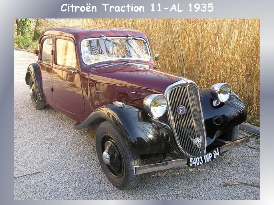 La nouvelle Citroën, qui marque une réelle rupture avec la Rosalie, se singularise esthétiquement par sa ligne entièrement aérodynamique, résultat de