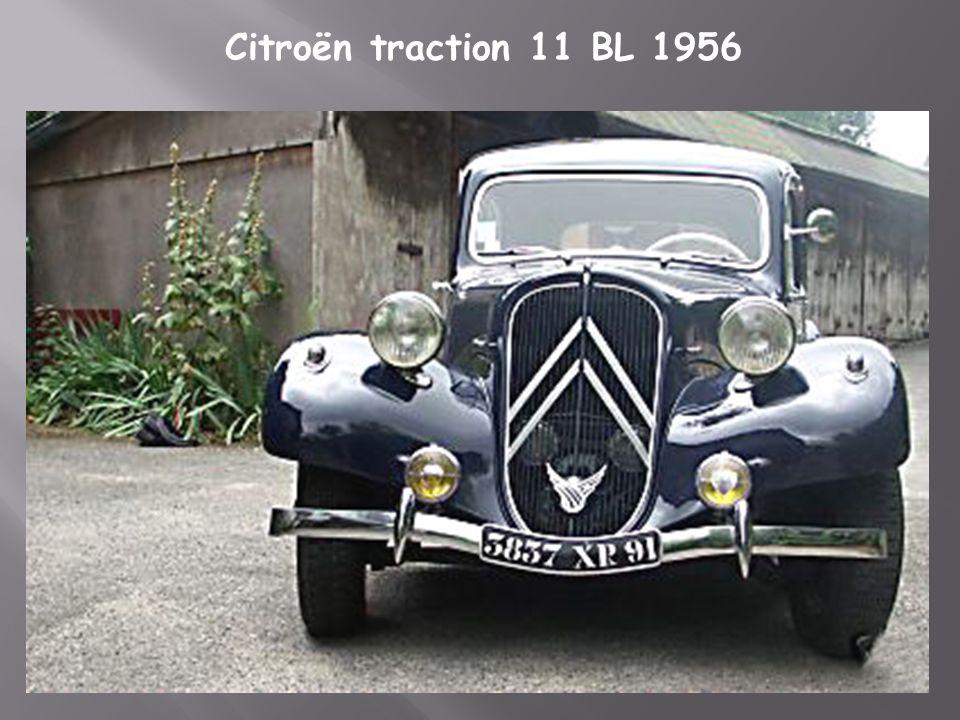 Citroën traction 11 lègère restaurée