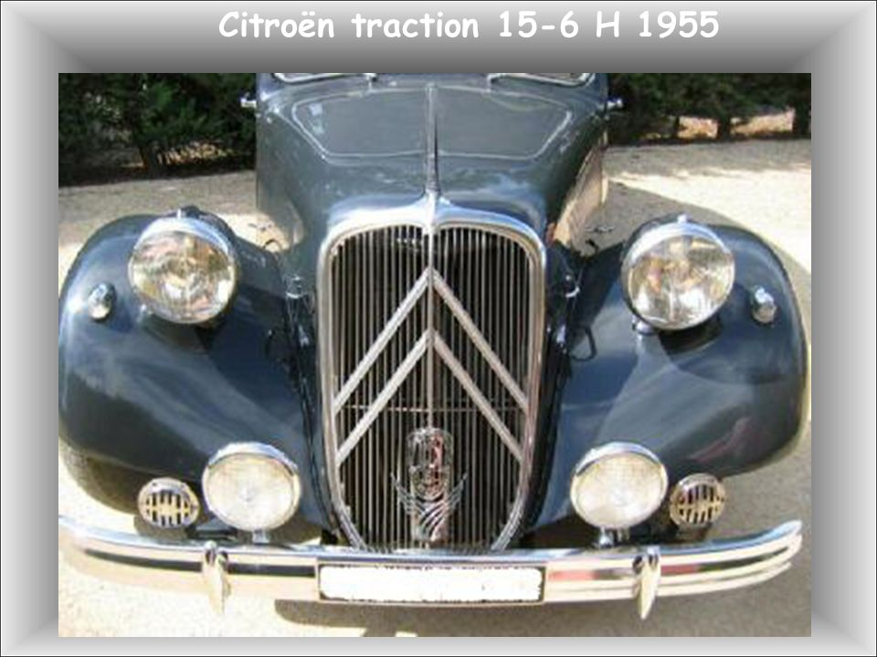 Citroën Traction 15 ch