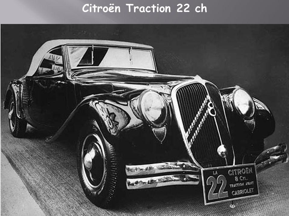 Citroën traction 15-6 H 1955
