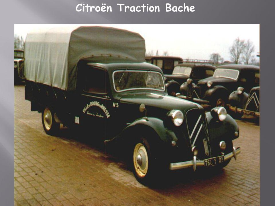Citroën traction cabriolet