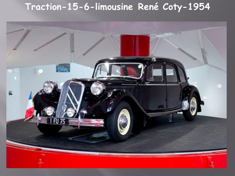 Citroën Traction Bache