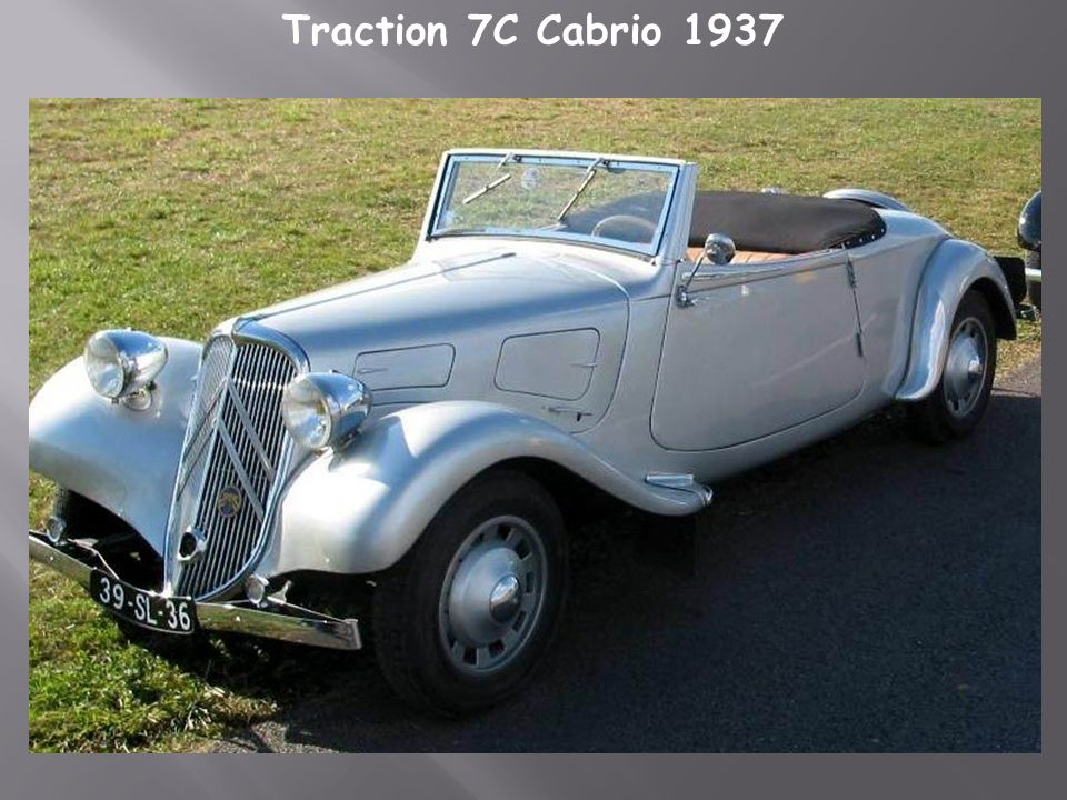 Citroën Traction 11-AL 1935