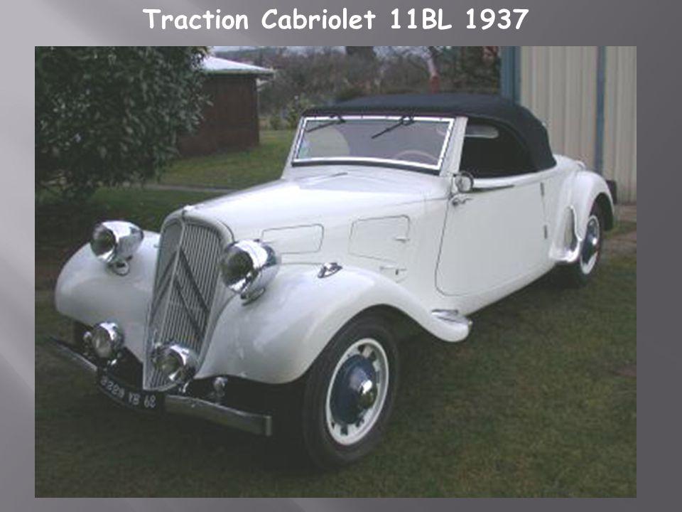 Traction cabriolet-7C 1937