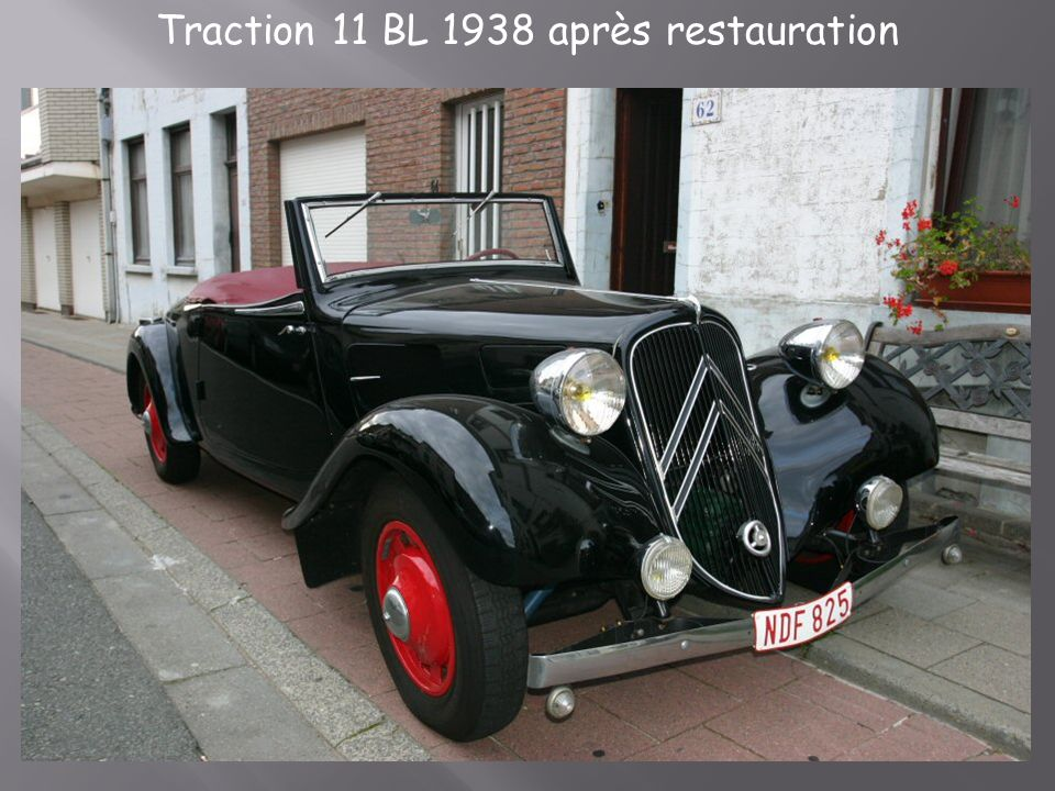 Citroën traction 11 b 1955