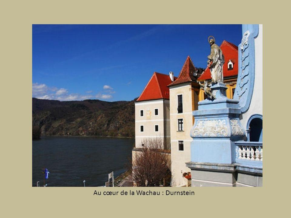 A Durnstein la rivière devient fleuve