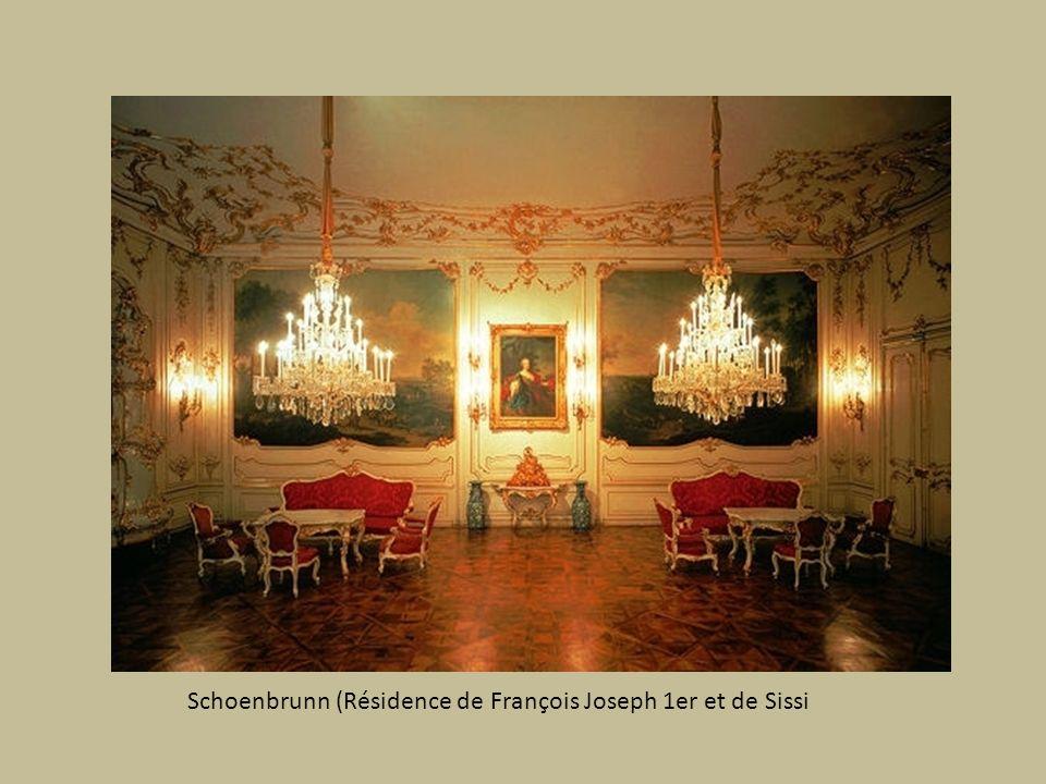 Château de Schoenbrunn près de Vienne