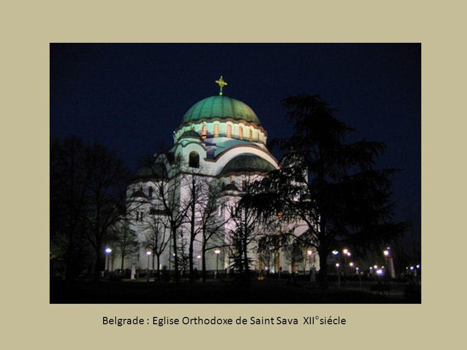 BELGRADE Romaine, Byzantine, Turque au confluent de la Save