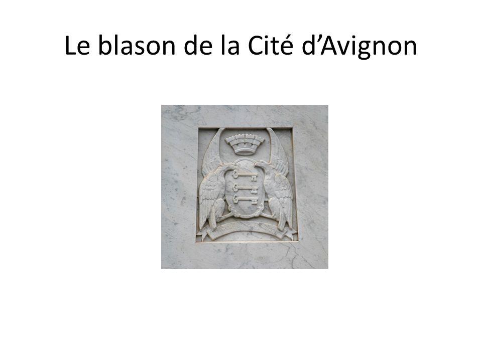 Le blason de la Cité dAvignon