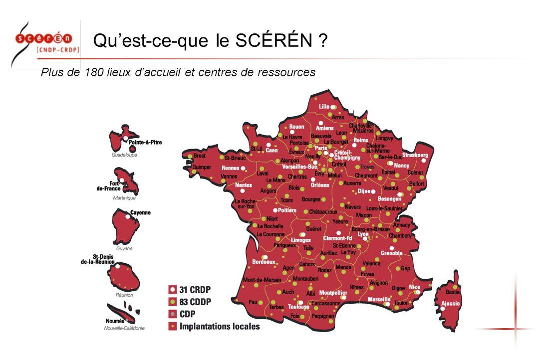 Quest-ce-que le SCÉRÉN ? Plus de 180 lieux daccueil et centres de ressources