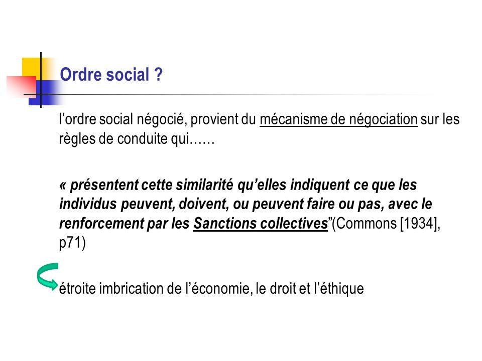 Ordre social .