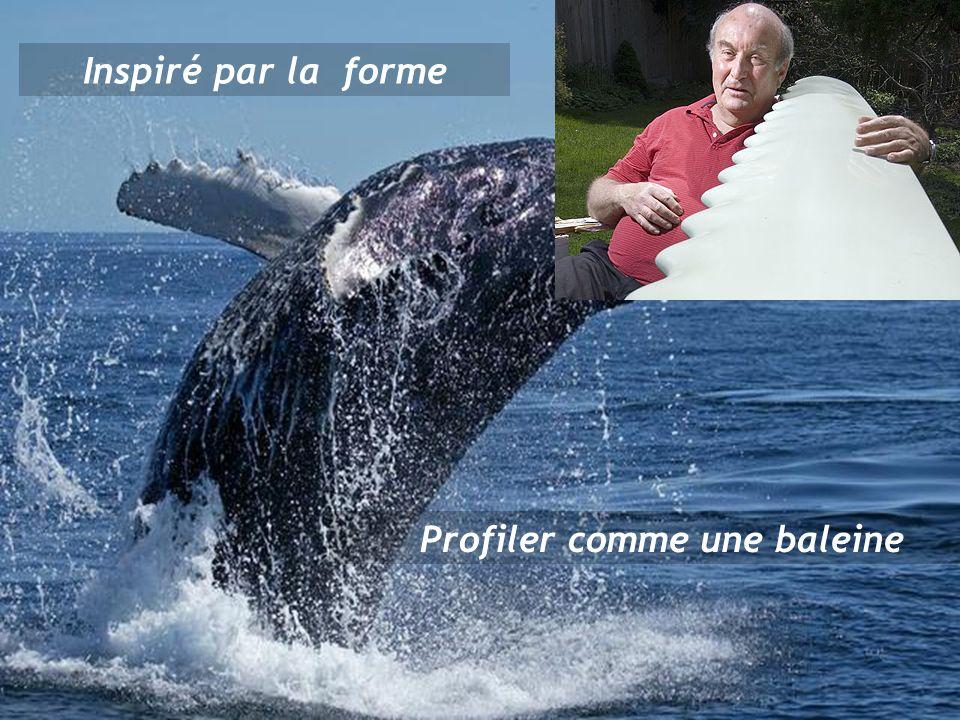 Inspiré par la forme Profiler comme une baleine