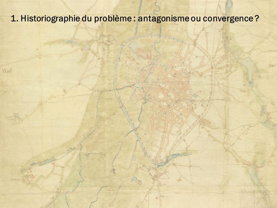 1. Historiographie du problème : antagonisme ou convergence ?