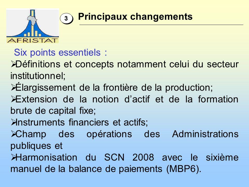 3- Extensions des concepts dactifs, de formation de capital et de consommation de capital fixe 3.1 Le changement de propriété économique est défini La propriété économique tient compte de lendroit où les risques et les revenus de la propriété se trouvent.