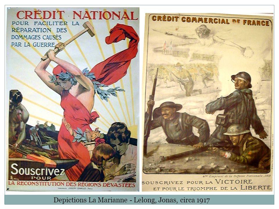 Germania, Allemagne (c. 1914) – Représentation delle-même