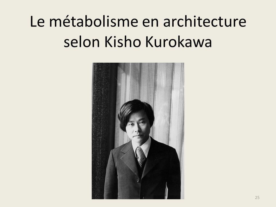 Le métabolisme en architecture selon Kisho Kurokawa 25