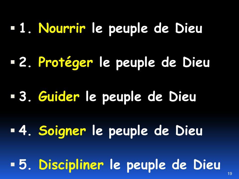 3. En tant que berger (poimen 18 ) Les anciens doivent paître (poimainô 11 ) le troupeau de Dieu. 18