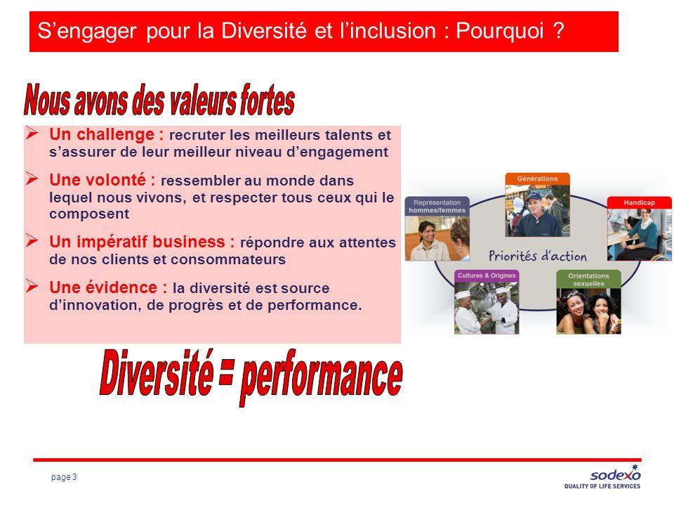 page 3 Sengager pour la Diversité et linclusion : Pourquoi .