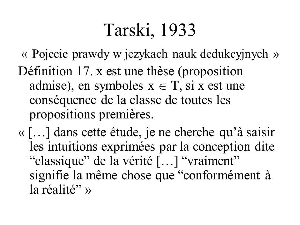 LES AVATARS DE LENONCIATION Henri PORTINE TELANCO 5 Février 2004