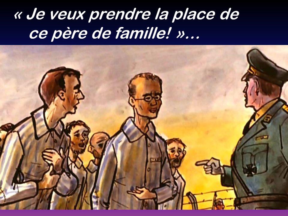 « Je veux prendre la place de ce père de famille! »…